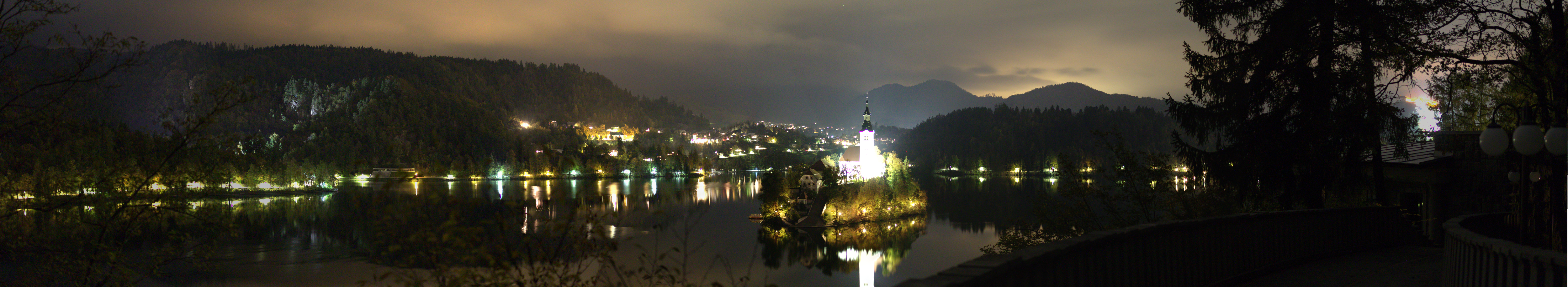 Panorama Bled Insel